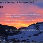 Adventsanlass - Samstag 15. Dezember 2018