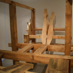 Klopfmaschine im Bündner Kunstmuseum