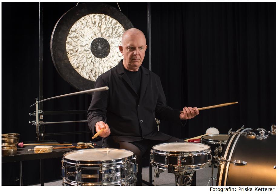 Konzert «Spettro» mit Fritz Hauser in der Zentrale der Kraftwerke Zervreila AG